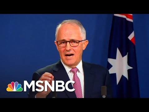 Australian Prime Minister Does Donald Trump Impression | All In | MSNBC