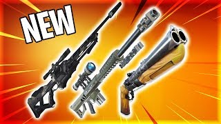 3 BRAND NEW WEAPONS COMING INTO FORTNITE!