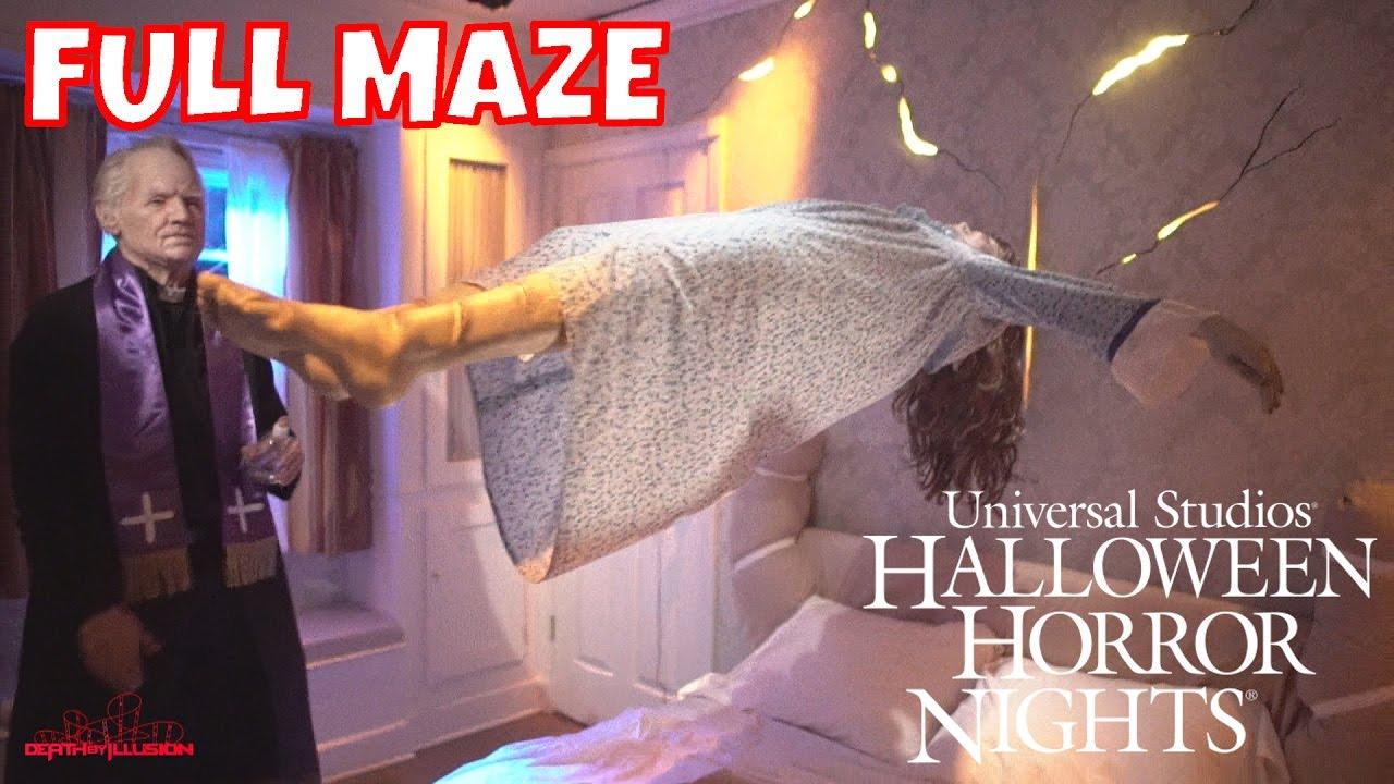 the exorcist hd full maze halloween horror nights 2016 universal