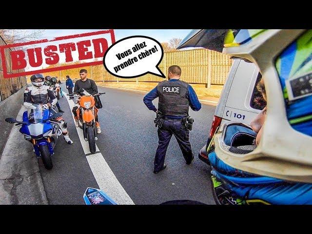 LA POLICE NOUS ARRÊTE SUR L'AUTOROUTE | 500EXC & R6