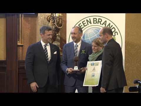 GREEN BRANDS Austria 2014 Gala - Auszeichnungen