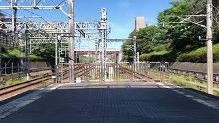 北神急行7000系・7000系7052F・7055F 新神戸行・谷上行 名谷駅
