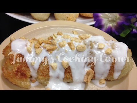 Chuối Cuộn Nếp Nướng | Grilled Banana Sticky Rice Rolls