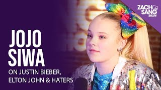 JoJo Siwa Talks Justin Bieber, Meeting Elton John & Hate Comments