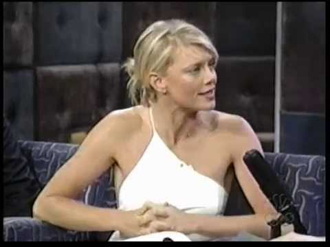 Peta Wilson @ Late Night with Conan O'Brien 2000