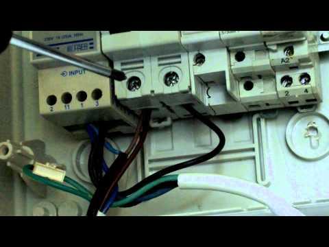Schema Elettrico Neon A Led : Guida installare lampade di emergenza youtube