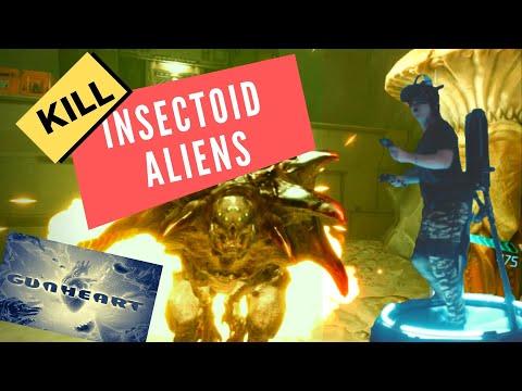KILL INSECTOID ALIENS!  (Gunheart VR/Kat Walk Mini)