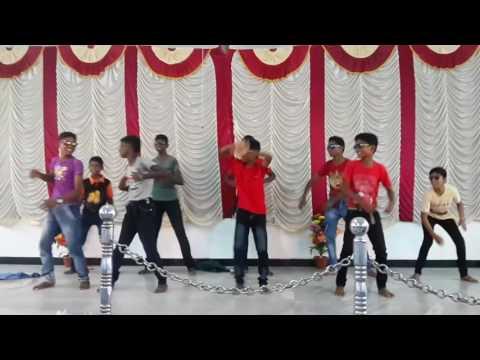 Tamil Christian kuthu song boys  dance