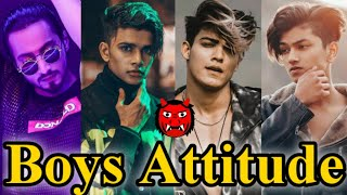????Boys Attitude Videos????| Tik Tok Videos????|????Chikka Al Vissa ???? Song Tik Tok Videos????