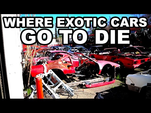 Take A Tour Of These Exotic Car Graveyards Fox Sports