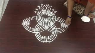 New Padi kolam designs for Dhanurmasam muggulu || Creative rangoli designs for Sankranthi muggulu