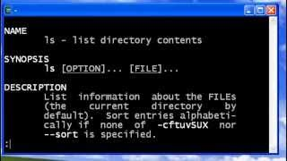 UNIX Man (help command)