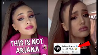 Ariana Grande is scared of her twin..