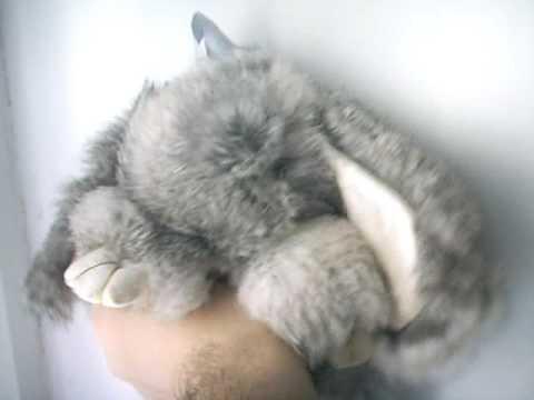 Своими руками заяц из меха