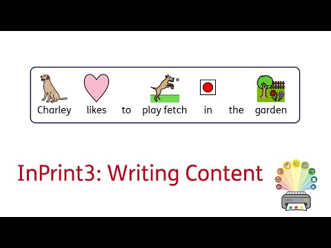 InPrint 3 Tutorial - Writing Content