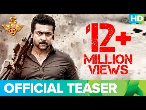S3 Official Teaser | Tamil | Suriya,...