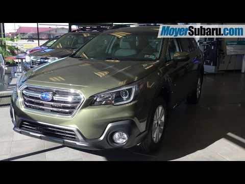 2018 Green Outback Premium 2.5i Showroom Promo Video