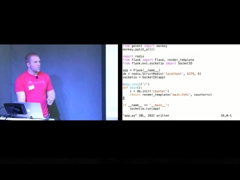 SF Python January 2015 - WebSockets in Python by Matt Makai