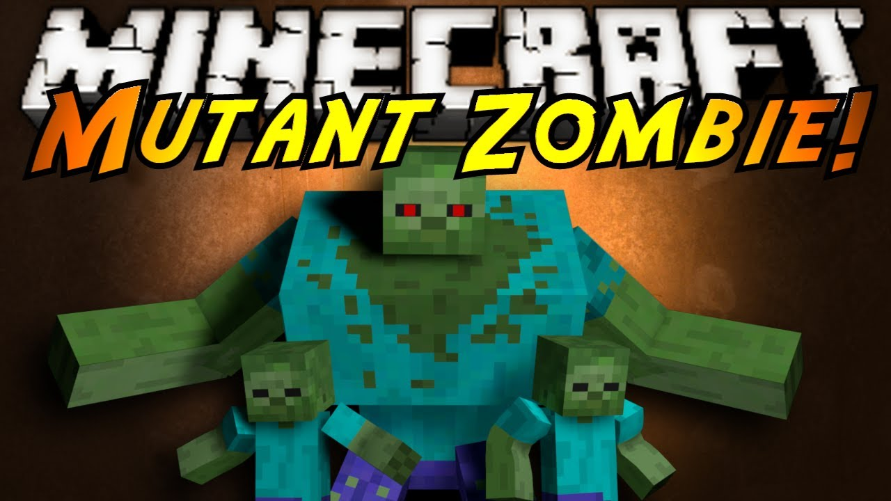 Minecraft Mod Showcase Mutant Zombies Youtube