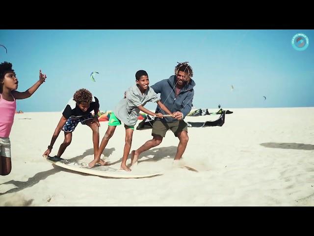 GKA Cabo Verde 2019 | Teaching kids kitesurfing