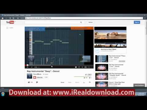 How To Download Video Using Realplayer When Download Button Is Not Working