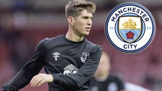 JOHN STONES SIGNS FOR MAN CITY  | AMAZING DEFENDING AND TACKLES 2016 HD