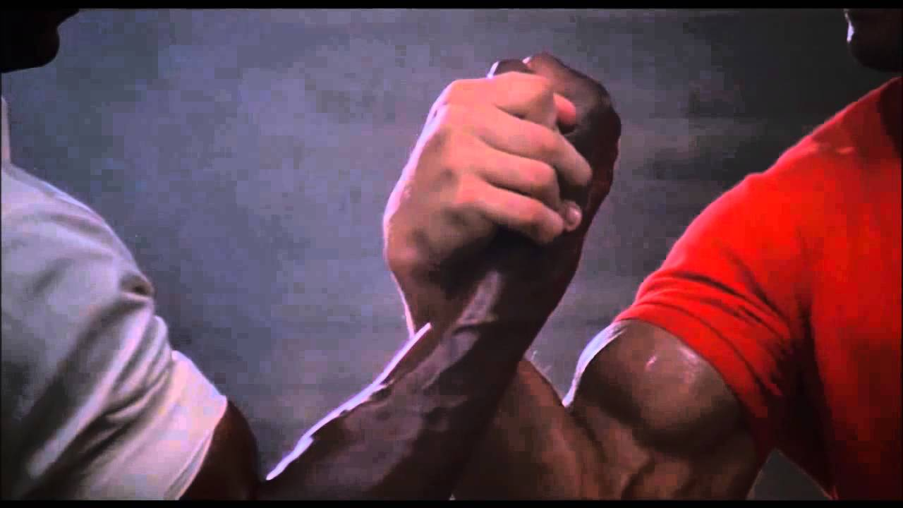 Dillon & Dutch and the uncomfortably long arm wrestle - YouTube