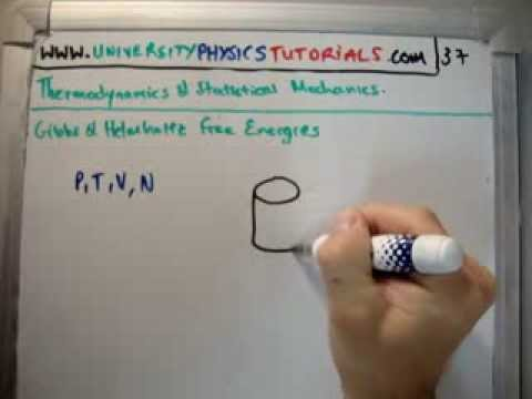 Thermodynamics 37 : Gibbs Helmholtz Free Energies