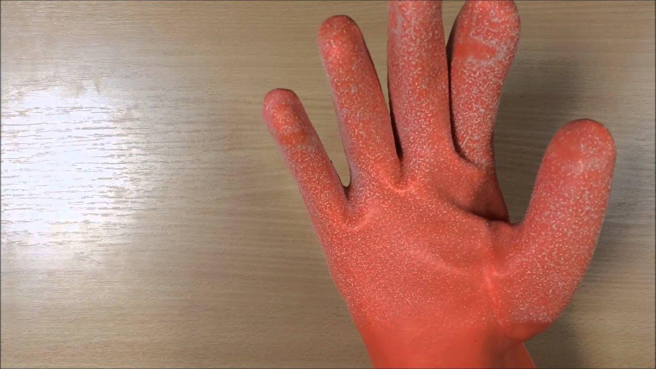 Утепленные резиновые перчатки ORINER - YouTube