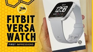 Fitbit Versa Detailed Setup, Unboxing and First Impressions