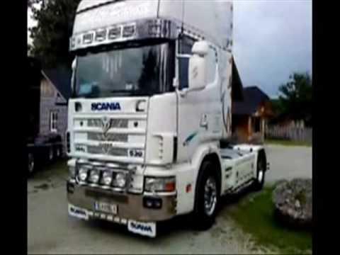 White Power Truck