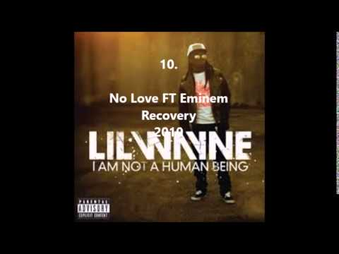 Lil Wayne Top 15 Fast Raps