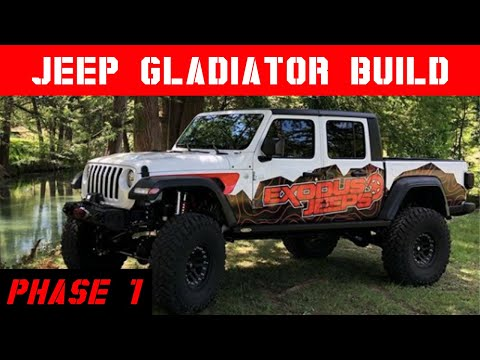Jeep Gladiator Build From Plain To Beast Mode 🇺🇸