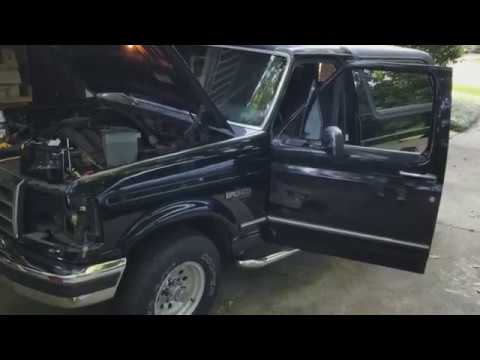 CHEATER\u0027S WAY!!! 92-96 Bronco F-150 Headlight Swap - - YouTube