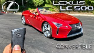 The 2021 Lexus LC500 Convertible Is The Best Way To Get A $102,000 Tan (In-Depth Review)
