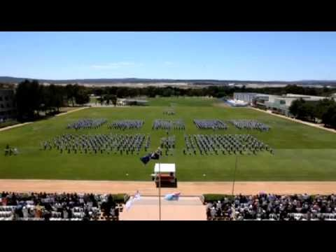 Australian Defence Force Academy Graduation Parade 2012