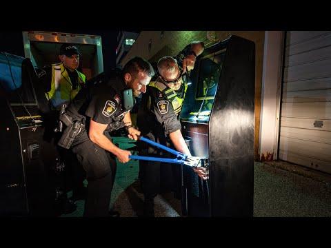Watch Canadian Cops Seize Mafia Boss's Sports Cars, House, Rare Booze