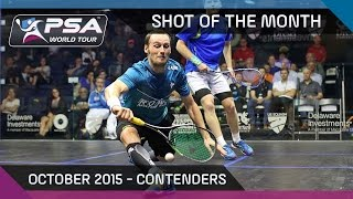 Squash: Shot Of The Month - October 2015: Contenders