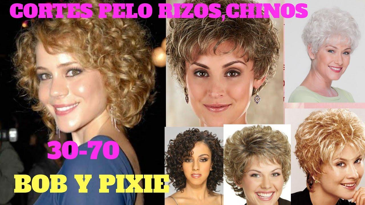 ☆CORTES DE PELO 2020☆Rizos,Chinos,BOB Y PIXIE,30-70,CORTES DE CABELLO MUJER 2020