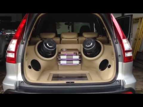 Audio mobil Honda CRV SQ Loud | German maestro | Innovation Car audio jakarta
