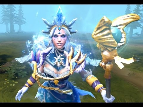 Crystal Maiden Frost Avalanche Arcana w/ Sets, Hair ...
