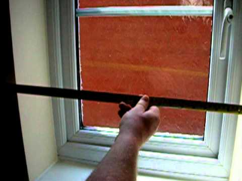 how to measure a standard recess window when ordering blinds youtube. Black Bedroom Furniture Sets. Home Design Ideas