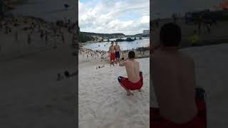 Люберецкий карьер пляж белый песок Московская область