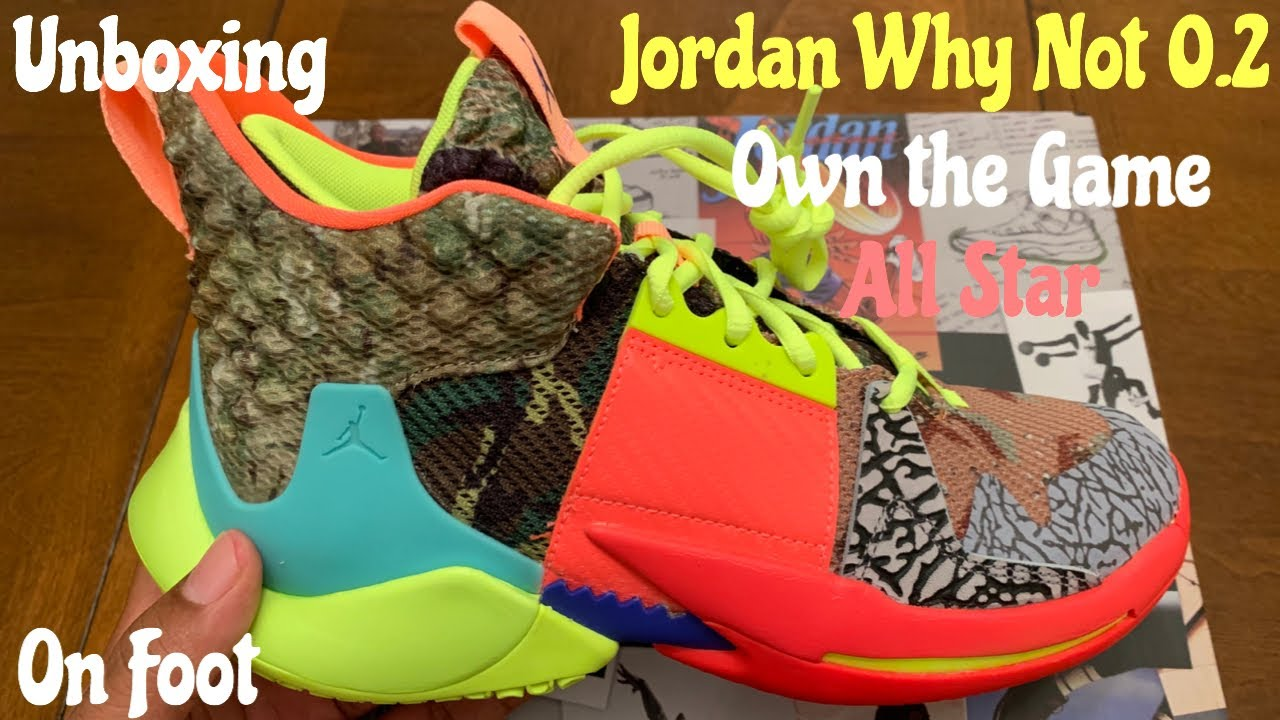 433ce0ab1c16d4 Jordan Why Not Zero.2 Own the Game aka All Star Unboxing