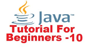 Java Tutorial For Beginners 10 - switch Statement in Java