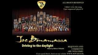 Joe Bonamassa Driving towards the daylight Backing track