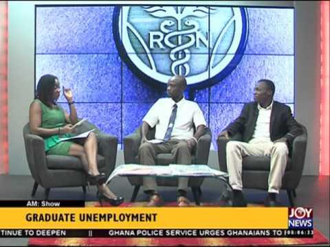 Graduate unemployment - AM Show on Joy News (12-4-16)