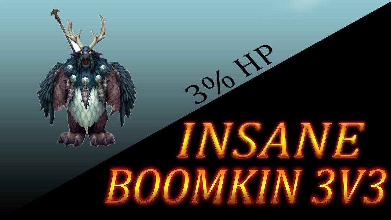 WoW] Balance Druid Arenas - INSANE 3% HEALTH COMEBACK
