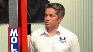 Unsealed 4X4 Garage - Molnar Hoist Install