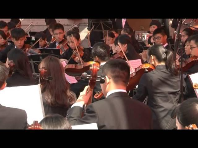 《中國第一交響序曲》     關峽  「香港青年愛樂樂團」(荷蘭鑽石國際音樂節)